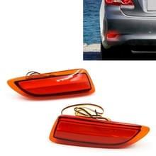 2 stuks 383 1W/12V auto Achterbumper licht remlicht voor Toyota Corolla 2011-2013