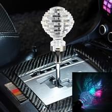 Universele auto nest vormige Crystal Gear hoofd Gear Shift knop met licht