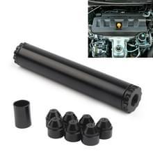 Auto brandstof filter pak voor Napa 4003 WIX 24003 5/8-24 inch Turbo lucht filter (zwart)