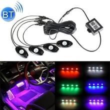 4 in 1 universele auto APP controle RGB chassis atmosfeer lichten kleurrijke verlichting decoratieve lamp
