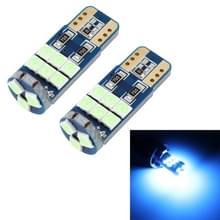 2 PCS T10 DC12 / 1W 9LEDs SMD-3030 Car Clearance Light (Ice Blue Light)