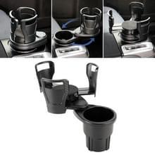Multi-functionele auto auto universele koolstofvezel textuur Cup houder drankje houder