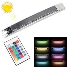 Auto zonne-energie multi-functionele noodverlichting 15-Color strobe lampen met afstandsbediening