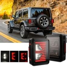 2 stks auto No. 3 shape achteruitrijlichten/turn Light/achterlicht voor ons versie Jeep Wrangler JK 2007-2017