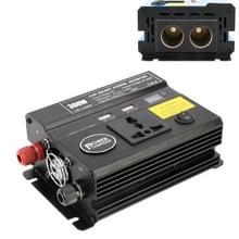 300W DC 12V naar AC 220V auto multi-functionele 4488 Smart Power Inverter (zwart)