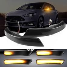 2 stuks D12V/5W auto LED omkeer licht water turn signaallicht voor Ford