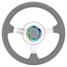 Auto kleurrijke stuurwiel hoorn knop push cover