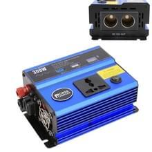 300W DC 12V naar AC 220V auto multi-functionele zuivere sine wave Power Inverter  willekeurige kleur levering