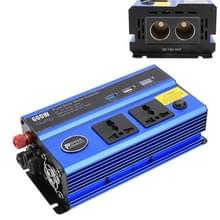 600W DC 12V naar AC 220V auto multi-functionele zuivere sinusgolf omvormer  willekeurige kleur levering