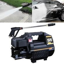 Auto / Home 220V Multifunctionele Automatic Water Power Washer High Pressure Spray Gun  Long Water Gun + 15m Steel Wire Pipe + Pot + Quick Connect