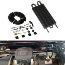 Auto Universal Modified Radiator Transmission Oil Cooler  4-rijige