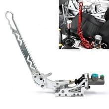 XH-BK016 Car Racing Drift Gemodificeerde volledig aluminium CNC Competitieve hydraulische handrem (zilver)