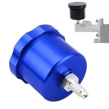 XH-BK017 Car Racing Drift Gemodificeerd aluminiumlegering CNC Concurrerende hydraulische handrem olietank pot (blauw)