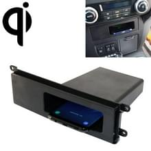 Auto Qi Standard Wireless Charger 10W Snelladen voor Mitsubishi PAJERO 2017-2018  Links rijden