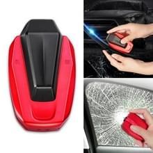 Auto ruitenwisser blad restaurateur + Veiligheidsgordel snijden (Rood)