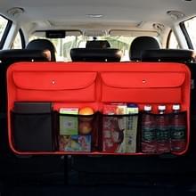 Universal Car Trunk Sundries Storage Bag Auto Rear Seat Net Pocket Bag (Rood)