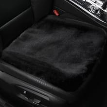 Auto Winter Pluche Seat Heater Cushion Warmer Cover Warme Mat (Zwart)