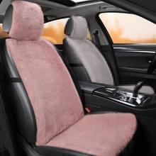 Auto Winter Pluche Voorstoelkussen (Roze)