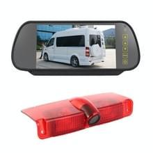 PZ478 Auto Waterproof 170 Graden Rem Licht View Camera + 7 inch Achteruitkijkmonitor voor Chevrolet Express Van / CMC Savana Van