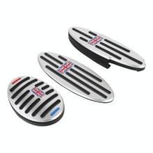 3 in 1 Auto Anti-Slip Pedalen Foot Brake Pad Cover Set voor BMW