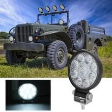 D0035 6.3 W 10-30V DC 6000K 3 inch 9 LEDs cirkel offroad truck auto rijden licht schijnwerper werk licht mistlicht