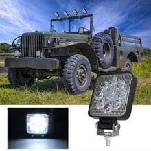 D0036 6.3 W 10-30V DC 6000K 3 inch 9 LEDs vierkante offroad truck auto rijden licht werk licht Spotlight mistlicht