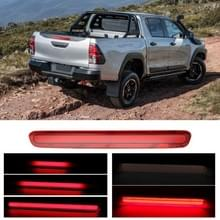 DC10-14V 36LED's SMD-2835 Auto Lang Hoge Positie Remlicht voor Toyota Hilux Revo 2018-2020(Rood)