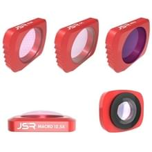 JSR 5 in 1 CR Super groothoeklens 12 5 X macrolens CPL Lens + ster + ND16 Lens Filter Set voor DJI OSMO Pocket