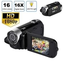 1080P HD 16X digitale zoom 16 0 MP digitale video camera recorder met 2 7 inch LCD-scherm (zwart)