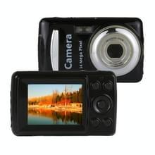 1280x720P HD 4X digitale zoom 16 0 MP digitale video camera recorder met 2 4 inch TFT-scherm (zwart)