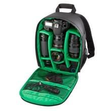 DL-B028 Waterbestendige Buitensport Backpack Rugtas DSLR Camera Tas voor GoPro  SJCAM  Nikon  Canon  Xiaomi Xiaoyi YI  Afmetingen: 27.5 x 12.5 x 34 cm (groen)