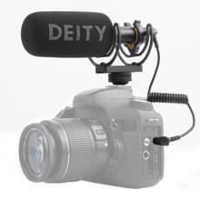 Goity V-Mic D3 directionele condensator shotgun microfoon  ondersteuning 360 degree pan/180 graden Tilt (zwart)