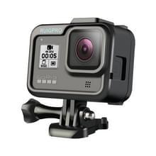 RUIGPRO voor GoPro HERO8 standaard Border PC ABS frame Mount beschermhoes (zwart)