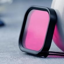 Vierkante behuizing duiken kleurenlens filter voor GoPro HERO8 Zwart (Paars)