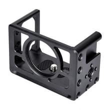 YELANGU C10 behuizing shell CNC aluminiumlegering beschermende kooi met schroef & basis adapter voor Sony RX0 II (zwart)