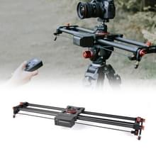 YELANGU L80RC YLG0128A 80cm elektrisch schuifspoor met afstandsbediening voor spiegelreflexcamera's / videocamera's