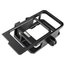 Voor GoPro HERO9 Black Metal Border Frame Mount Beschermhoes met Buckle Basic Mount & Screw(Zwart)