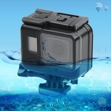 45m waterdichte behuizing beschermhoes + scherm van de Aanraking terug omslag voor GoPro nieuwe held / HERO 6/5  met gesp Basic Mount & schroef  niet nood voor wegnemen Lens (zwart)