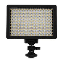 HD-160 Wit Licht LED Video Lamp Vullicht met 3 Filter Platen voor Canon Nikon DSLR Camera