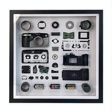Niet-werkende display 3D mechanische film camera vierkante foto frame montage demonteren specimen frame  model: stijl 1  willekeurige camera model levering