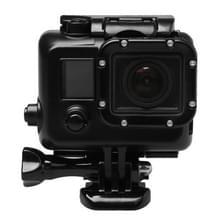 Voor GoPro HERO3 ABS skelet huisvesting beschermings hoesje Cover met Buckle Basic Mount & leiden schroeven