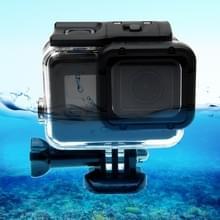 Voor GoPro  HERO 6/5 30m waterdichte behuizing van beschermende Case + holle rug dekken met gesp fundamentele Mount & schroef geen behoefte te demonteren van de Lens
