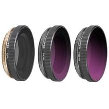 3 in 1 Sunnylife OA-FI174 CPL+ND8+ND16 Lens Filter voor DJI OSMO ACTION