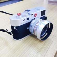 Niet-werkende Fake Dummy DSLR Camera Model Foto Studio Props voor Leica M  Hood Lens (zilver)