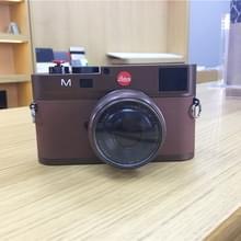 Niet-werkende Fake Dummy DSLR Camera Model Photo Studio Rekwisieten voor Leica M (Dark Coffee)