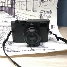 Niet-werkende Fake Dummy DSLR Camera Model Photo Studio Props (Zwart)