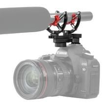 BOYA door-C40 Camera microfoon Shock Mount houder Clip met flitsschoen