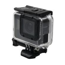 Voor GoPro  HERO 6 /5 skelet huisvesting beschermings hoesje + holle backcover met Buckle Basic Mount & schroeven