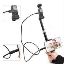 DJI OSMO Pocket draagbare uitschuifbare Selfie Stick Folding zelfontspanner Rod voor Android telefoon (Micro USB)