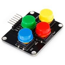 Landa Tianrui LDTR-HM0010 Cross 4-bits sleutel Module voor Arduino